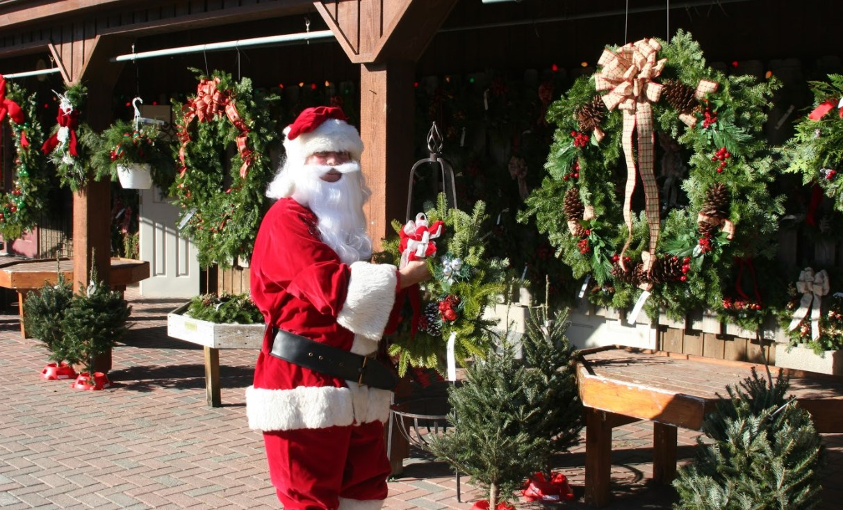 Santa Visits The Farm Heaven Hill Farm Garden Center